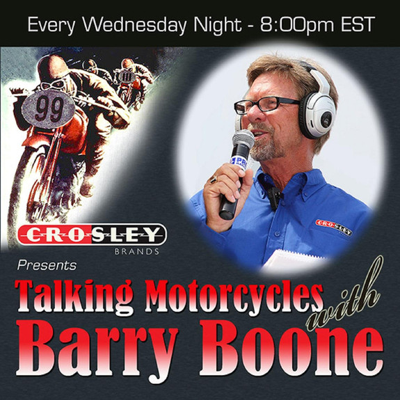 Talking Motorcycles with Barry Boone