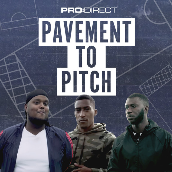 Pavement To Pitch with Chunkz, Yung Filly & Harry Pinero